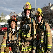 Three-firefighters-outside